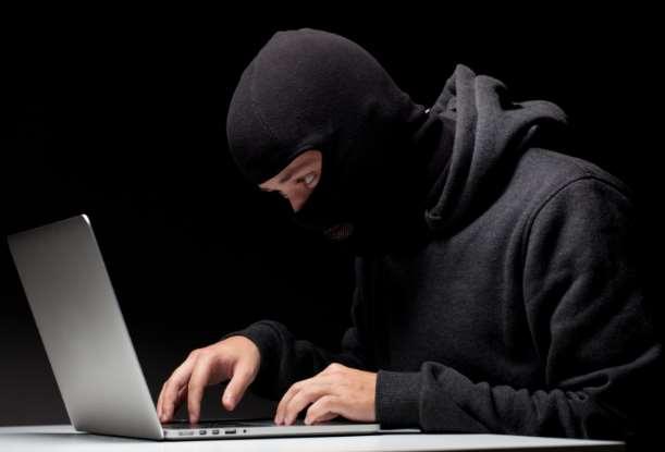 masked computer hacker