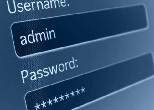 username password login prompt