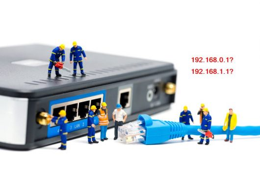 router with admin ip