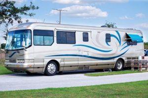 rv with antenna